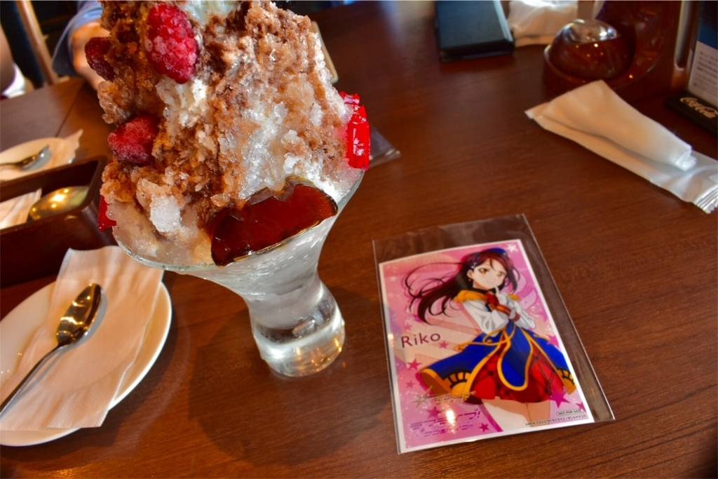 桜内梨子と黒澤ルビィのBirthday 限定コラボスイーツ
