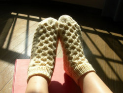 Honeycomb Socks#