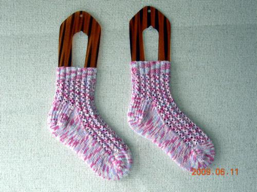 くつした18*Lacy Ribs Socks*kal0906_1