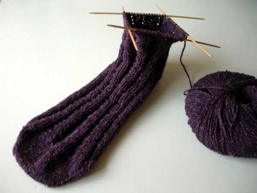 Trilobite Socks *0909KAL2Wip