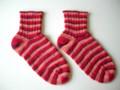 slip Stitch Heel Basic Socks * Socks From the Toe Up KAL Nov 2009