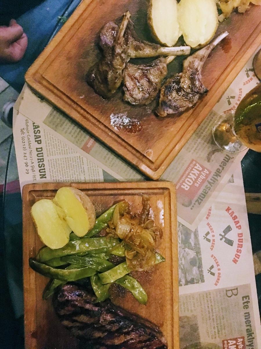 イスタンブールの美味しいレストラン