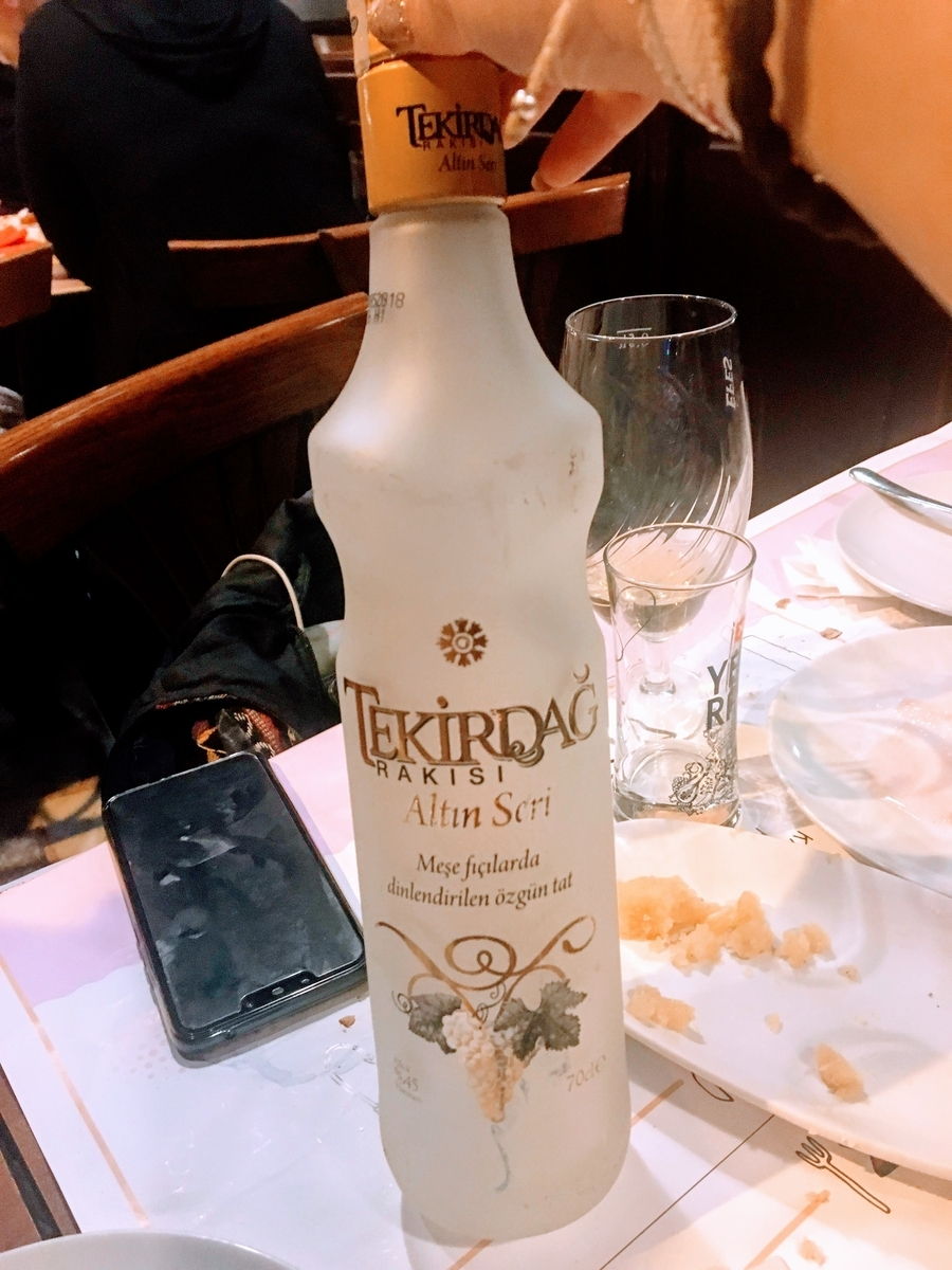 トルコのお酒