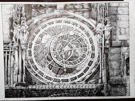 チェコの大時計
