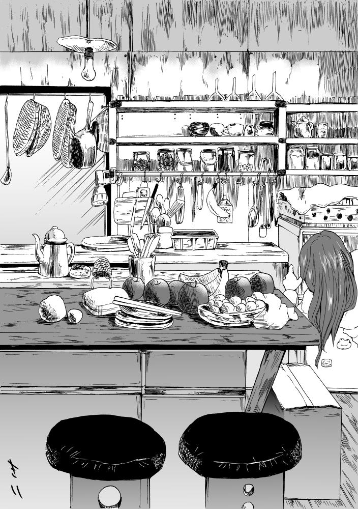 ごちゃごちゃ台所