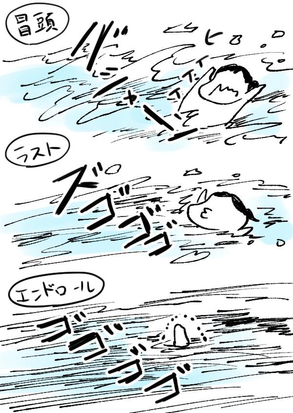 襲い来る三度の波