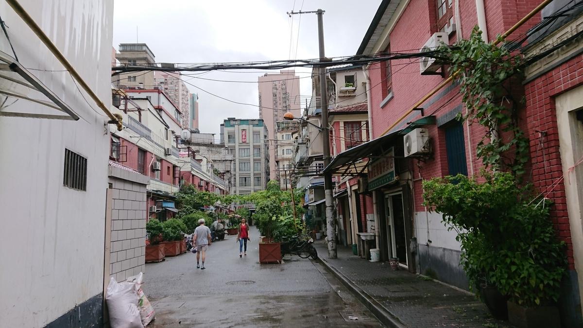 上海の裏路地