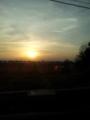 癒しの夕日
