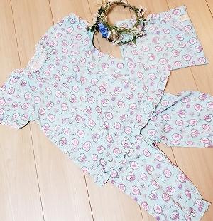 パジャマもかわいい