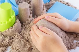 室内砂遊び