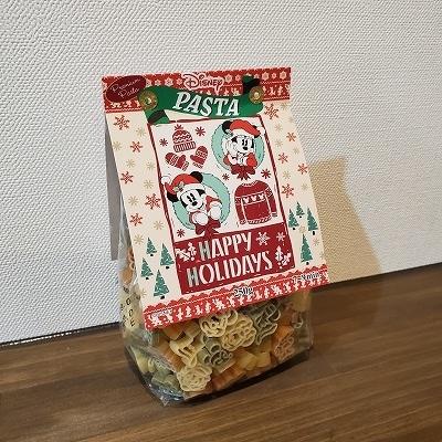 ディズニーキャラクタークリスマスパスタ