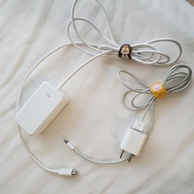 携帯のケーブル