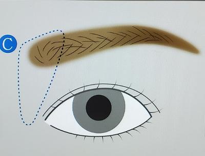 眉の描き方②