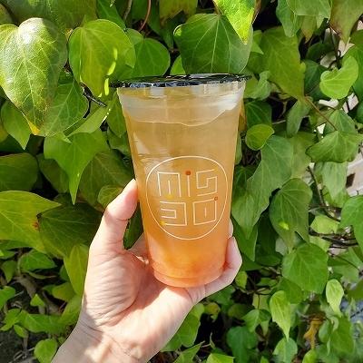 オレンジピンクグレープフルーツジャスミンをテイクアウト