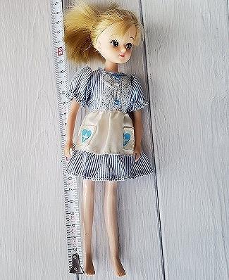 リカちゃんの身長