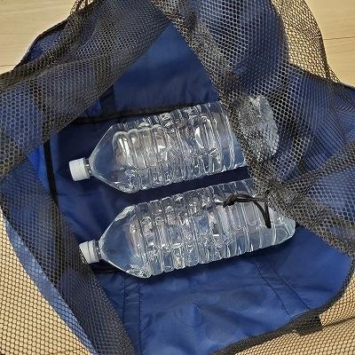 ペットボトル2本もすっぽり