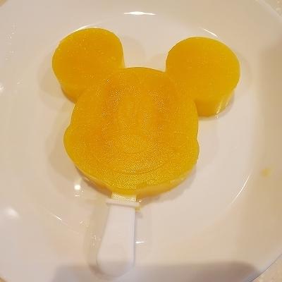 ミッキーオレンジアイス