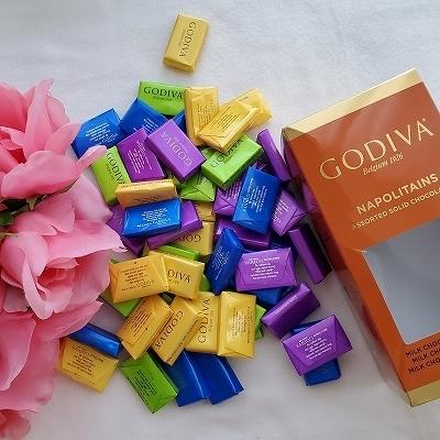 箱の中のチョコレート