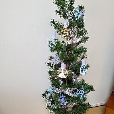 クリスマスツリーに