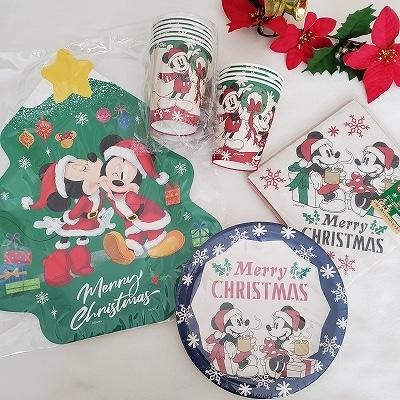 クリスマスペーパーグッズ