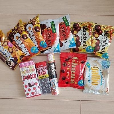 購入お菓子