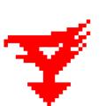 [ガッチャマン][ドット絵]科学忍者隊ガッチャマン 胸マーク