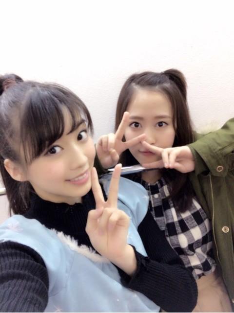 牧野真莉愛&小田さくら