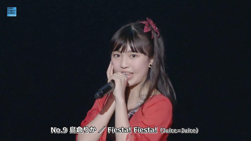 No.9 島倉りか/Fiesta!Fiesta!(Juice=Juice)