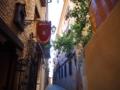 トレド可愛い街並み