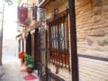 トレド可愛い街並みの窓枠