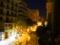 バルセロナ 部屋からの眺め(夜)