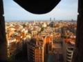 生誕の塔からバルセロナの街並み