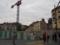 モンパルナス駅出たところ 工事中