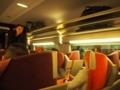 パリ TGV車内