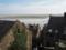 モンサンミシェル教会からの景色