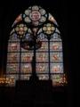 ノートルダム大聖堂内ステンドグラス