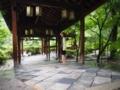 万福寺の渡り廊下