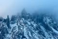 利尻富士 冬