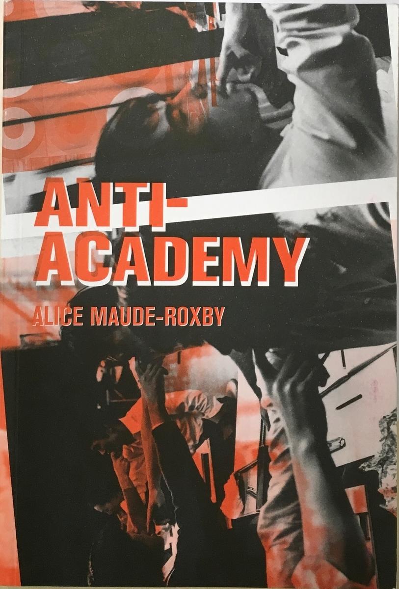 『Anti-Academy』表紙