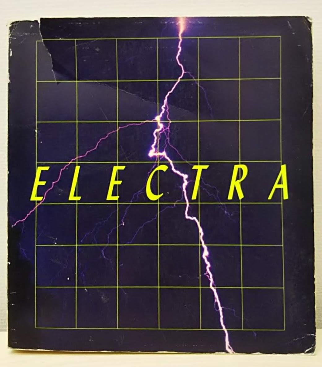 表紙に『ELECTRA』to