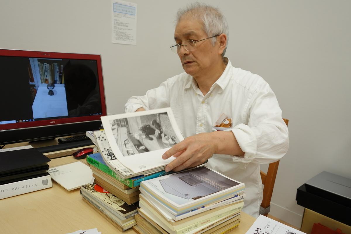藤村さんの蔵書たち