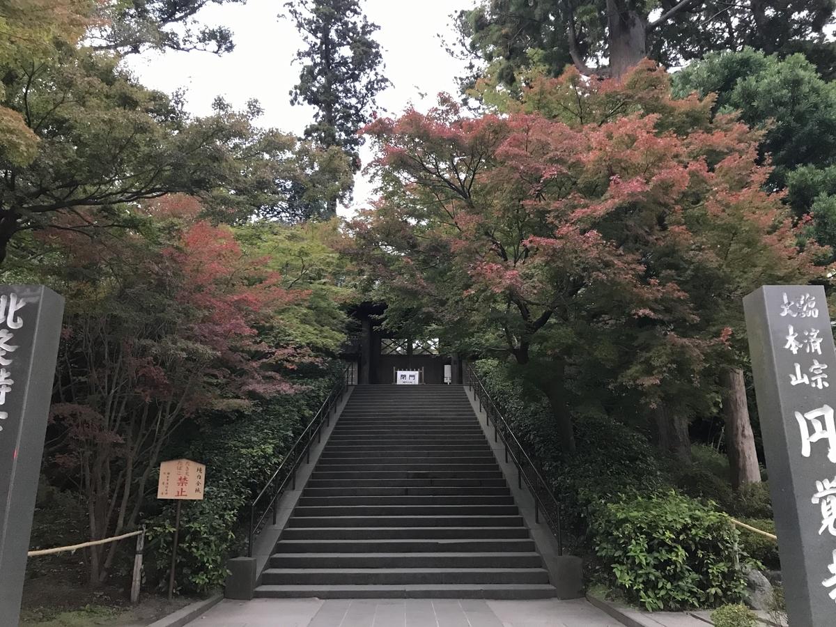 2019年鎌倉円覚寺の紅葉20191118-3