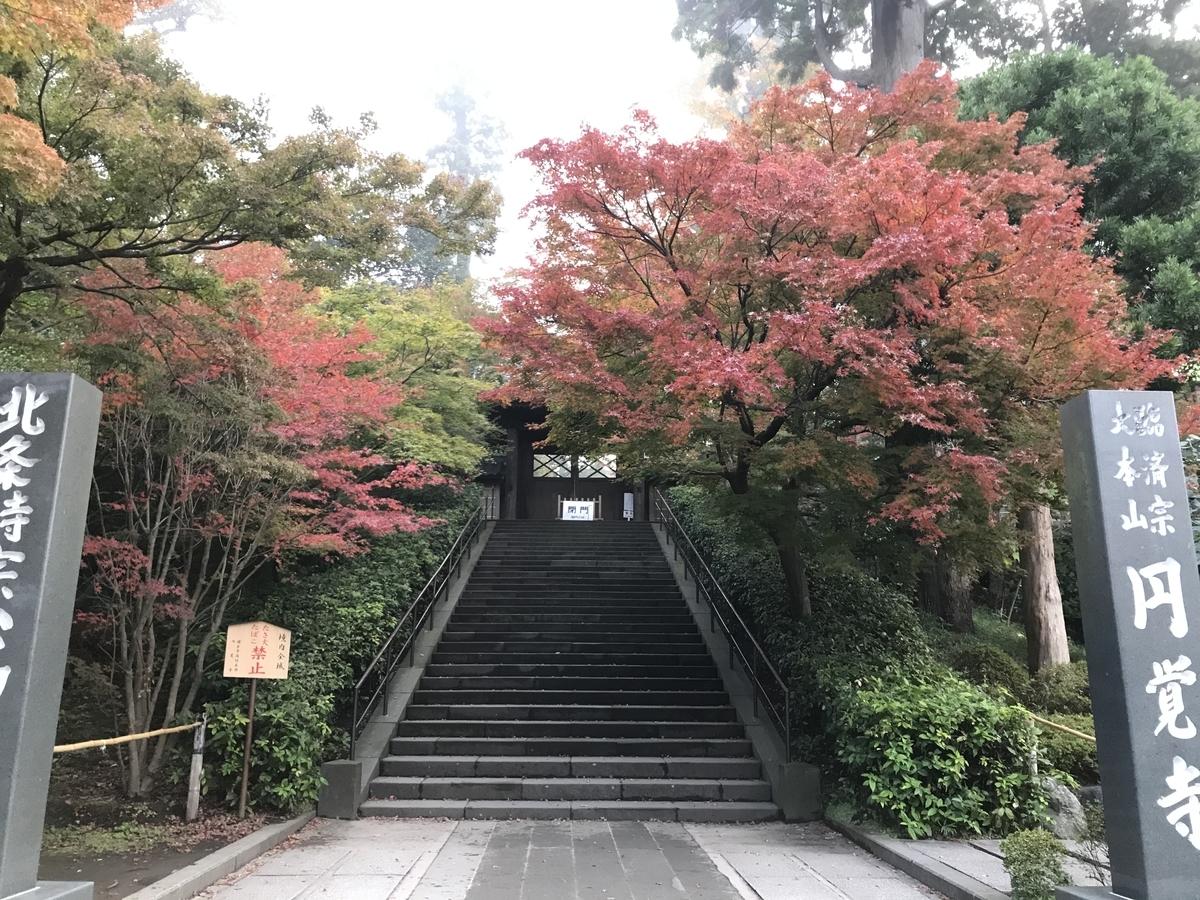 鎌倉紅葉円覚寺20191125-3