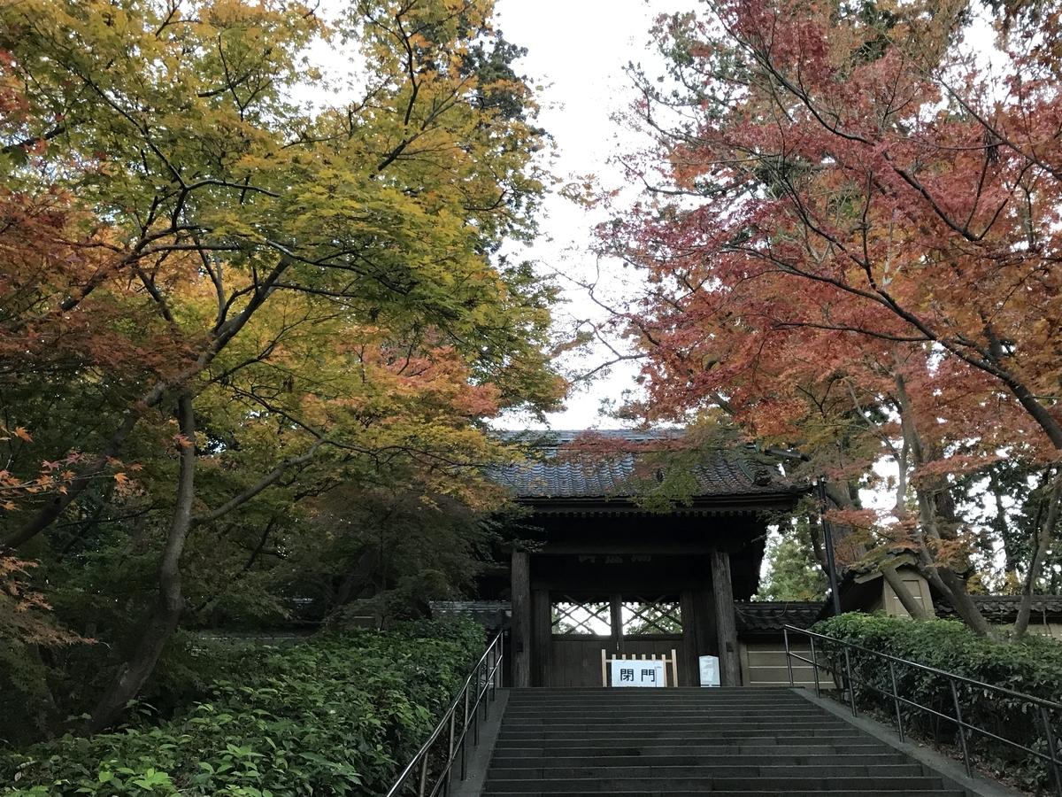 鎌倉紅葉円覚寺20191204-2