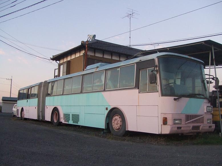 ボルボB10M 富士重工連節バス(つくば博→東京空港交通→) - ☆草 ...