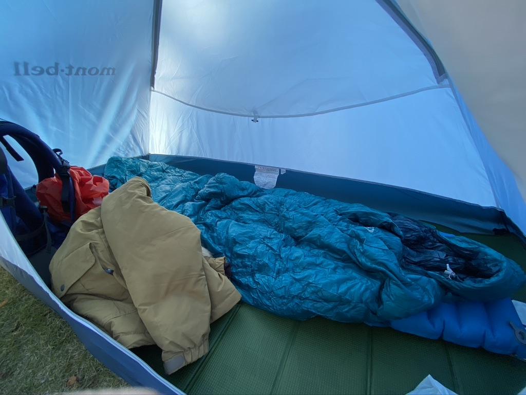 テント内の環境