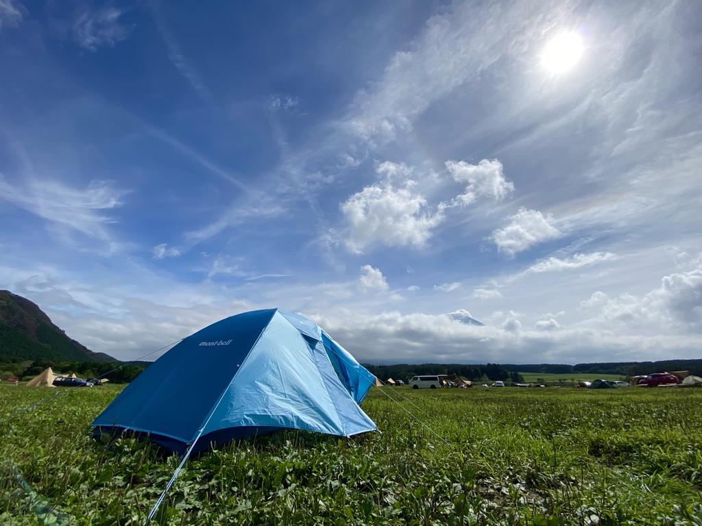 ここを本日のキャンプ地とする!