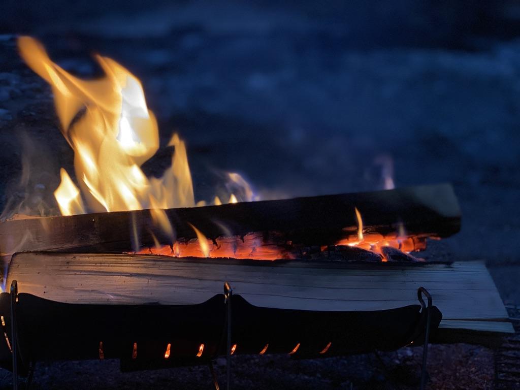 ベルモントの焚火台「TABI」