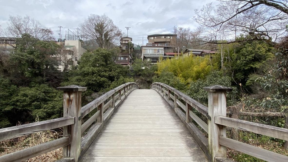 猿橋を正面から見たところ