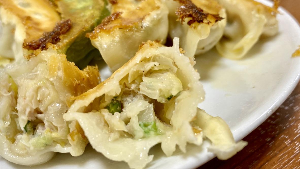 中華飯店の餃子